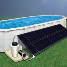 Dohenys Above Ground Pool Solar Heating System