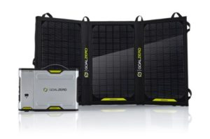 Goal Zero Sherpa 100 Solar Recharging Kit with Nomad 20 Solar Panel