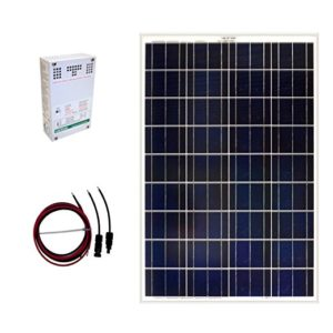 Grape Solar GS-100-KIT 100-Watt Off-Grid Solar Panel Kit