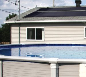 SunQuest Solar Swimming Pool Heater Complete System with Roof Kits