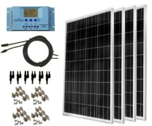 WindyNation 400-Watt Solar Panel Kit