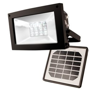 Maxsa 40330 Solar-Powered 10 Hour Floodlight