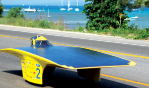 University of Michigan's Solar Car