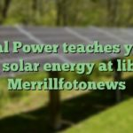 Pedal Power teaches youth about solar energy at library – Merrillfotonews